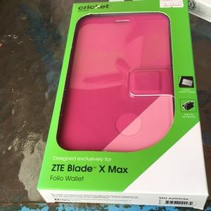 ZTE Blade X MAx Phone case folio wallet 2/24